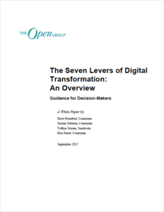 Download Seven Levers of Digital Transformation