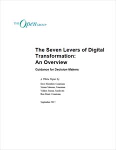 Télécharger Seven Levers of Digital Transformation