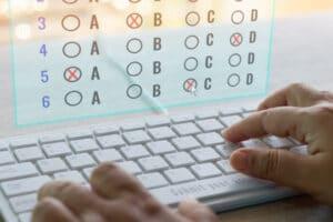 Online Multiple Choice Exam